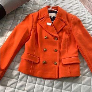 NWT Banana Republic Orange Blazer Jacket